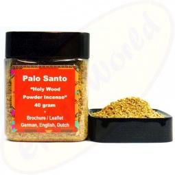 Palo Santo Heiliges Holz Feingranulat 40g Räucherwerk