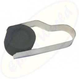 Räucherkohlenzange Edelstahl 9x4 cm