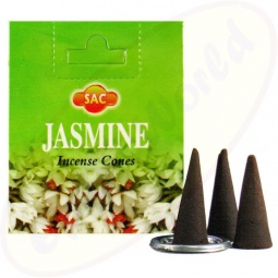 SAC Jasmine indische Räucherkegel
