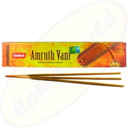 Sandesh Amruth Vani indische Premium Masala Räucherstäbchen