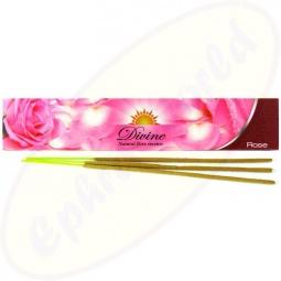 Sandesh Divine Rose indische  Masala Räucherstäbchen