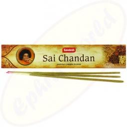 Sandesh Sai Chandan indische Masala Räucherstäbchen