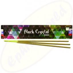 Satya Black Crystal indische Masala Räucherstäbchen
