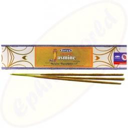Satya Natural Jasmine indische Räucherstäbchen