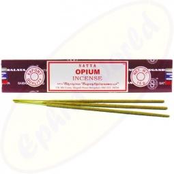 Satya Opium indische Masala Räucherstäbchen