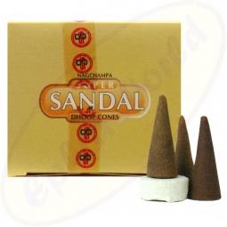 Satya Super Sandal indische Räucherkegel