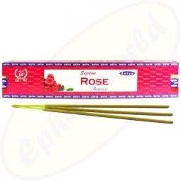 Satya Supreme Rose indische Masala Räucherstäbchen