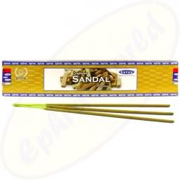 Satya Supreme Sandal indische Masala Räucherstäbchen