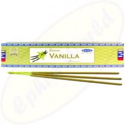 Satya Supreme Vanilla indische Masala Räucherstäbchen