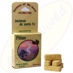 South-West Räucherbriketts Pinon - Pinien 20er - Incienso De Santa Fe