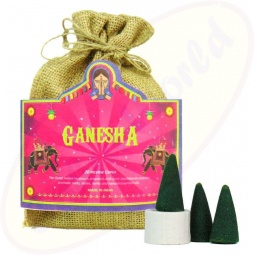 The Great Indian Incense Räucherkegel Ganesha 20er
