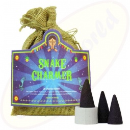 The Great Indian Incense Räucherkegel Snake Charmer 20er im Jutesack