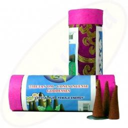TIBETIAN OHM Goddesses Räucherkegel