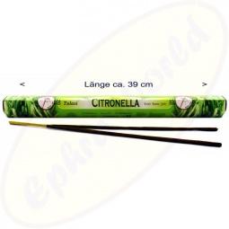 Tulasi Citronella indische XL Räucherstäbchen