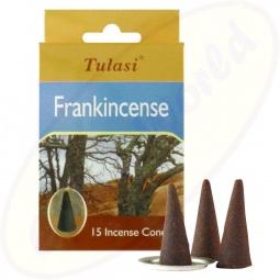 Tulasi Frankincense (Weihrauch) Räucherkegel
