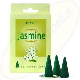 Tulasi Jasmine indische Räucherkegel - Räucherkerzen