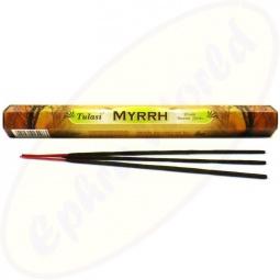 Tulasi Myrrh indische Räucherstäbchen