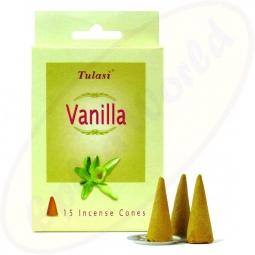 Tulasi Vanilla indische Räucherkegel - Räucherkerzen