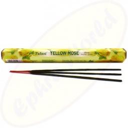 Tulasi Yellow Rose indische Räucherstäbchen