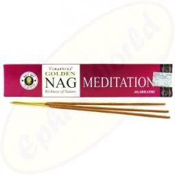 Vijayshree Golden Nag Meditation indische Masala Räucherstäbchen