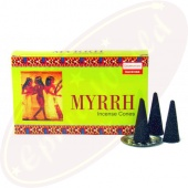 Darshan Myrrh Räucherkegel
