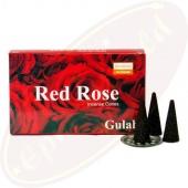 Darshan Red Rose Räucherkegel
