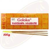 Goloka Nag Champa 100g Masala Räucherstäbchen