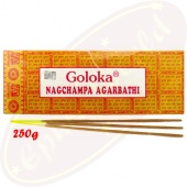 Goloka Nag Champa 250g Masala Räucherstäbchen