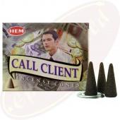 HEM Call Client Räucherkegel