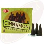 HEM Cinnamon (Zimt) Räucherkegel