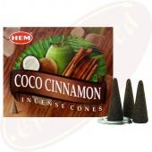 HEM Coconut Cinnamon Räucherkegel