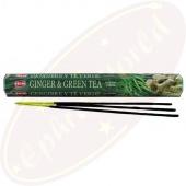 HEM Ginger & Green Tea Räucherstäbchen