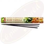 HEM Rose Vanilla Räucherstäbchen