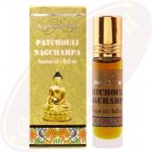 Nandita Patchouli Nag Champa Incense Oil - Parfüm Roll On