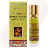 Nandita Patchouli Sandalwood Incense Oil - Parfüm Roll On