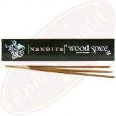 Nandita Wood Spice Premium Masala Räucherstäbchen