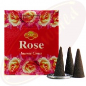 SAC Rose Räucherkegel