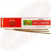 Sandesh Om Champa Masala Räucherstäbchen