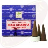 Satya Sai Baba Nag Champa Räucherkegel (BNG) LLP