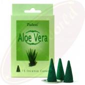 Tulasi Aloe Vera Räucherkegel