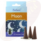 Tulasi Moon Räucherkegel