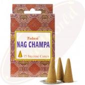 Tulasi Nag Champa Räucherkegel