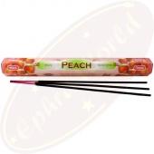 Tulasi Peach Räucherstäbchen