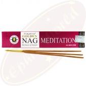 Vijayshree Golden Nag Meditation Masala Räucherstäbchen