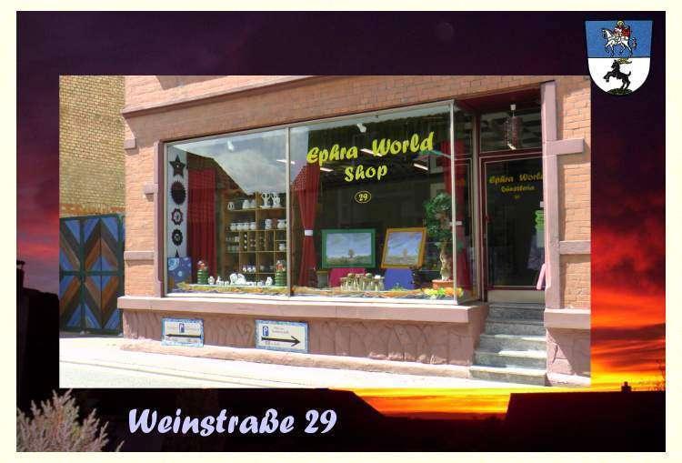 Bockenheim an der Weinstraße - Ephra World Shop Räucherstäbchen